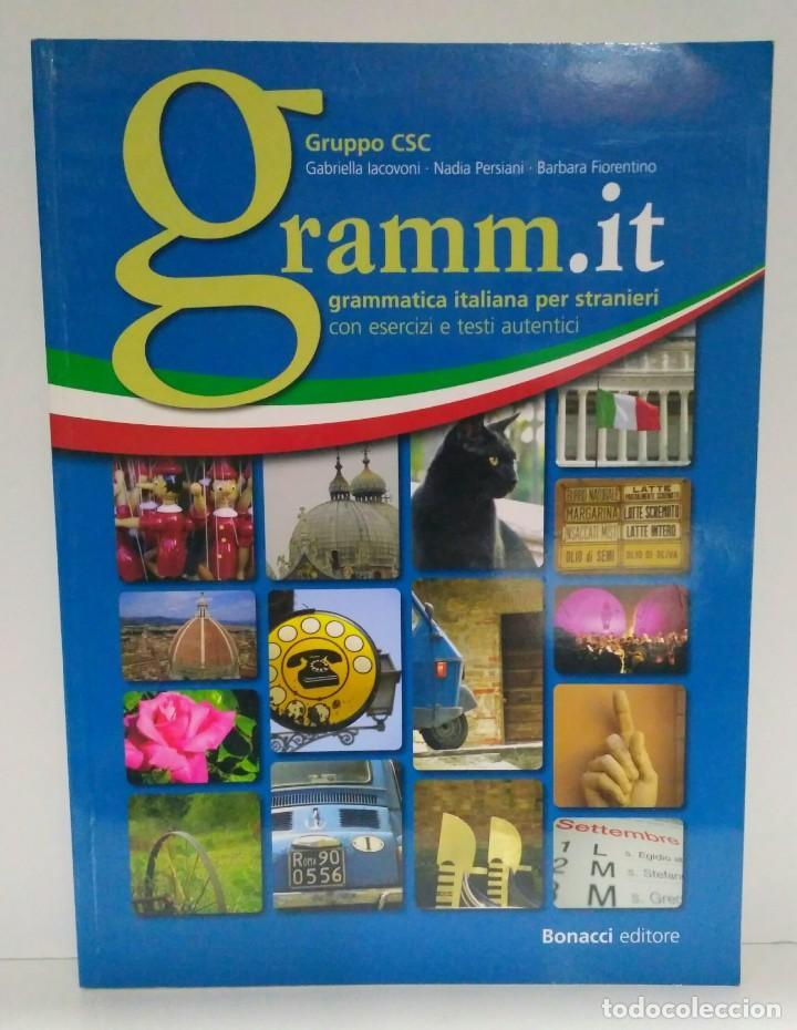 GRAMM.IT A1-C1, GABRIELLA IACOVONI. BONACCI EDITORE. GRAMMATICA ITALIANA PER STRANIERI 9788875734275 (Libros Nuevos - Idiomas - Italiano)