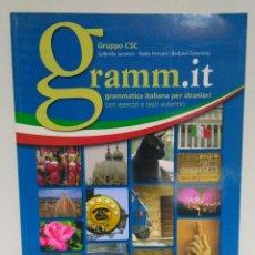 Libros: GRAMM.IT A1-C1, GABRIELLA IACOVONI. BONACCI EDITORE. GRAMMATICA ITALIANA PER STRANIERI 9788875734275. Lote 211414395