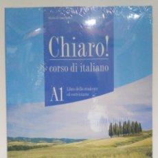 Libros: CHIARO! A1 ALUMNO + CD + CD-ROM, ALMA EDIZIONE (ITALIANO) 9788861822504. Lote 211415255