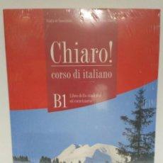 Libros: CHIARO! B1 ALUMNO + CD-AUDIO + CD-ROM, ALMA EDIZIONE (ITALIANO) 9788861822375. Lote 211415569