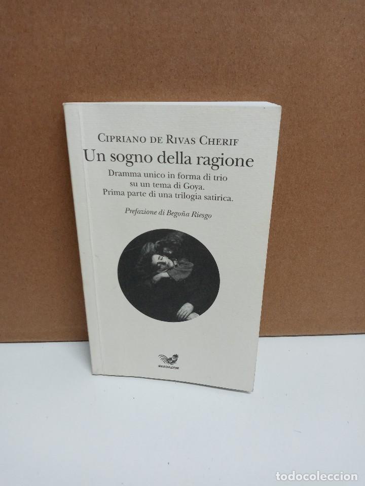 CIPRIANI DE RIVAS CHERIF - UN SOGNO DELLA RAGIONE - EDIZIONE IRRADIAZIONI - IDIOMA: ITALIANO (Libros Nuevos - Idiomas - Italiano)