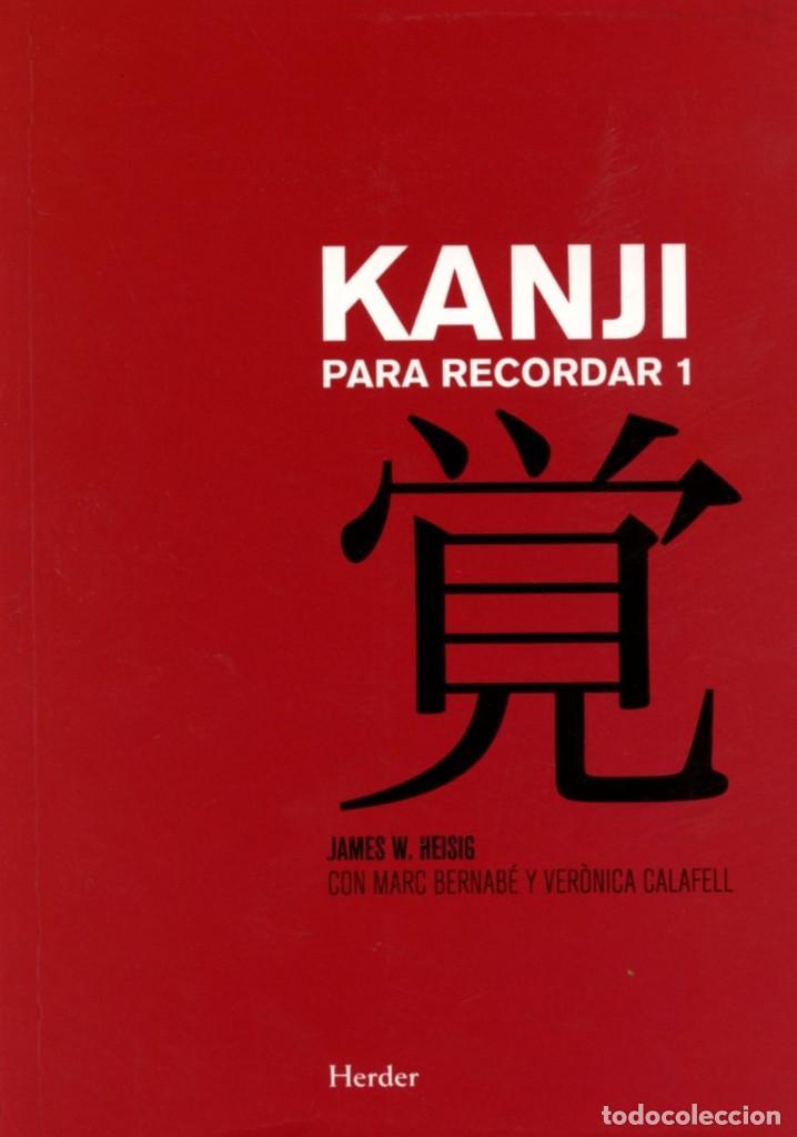 KANJI PARA RECORDAR VOL. 01 - HERDER - NUEVO (Libros Nuevos - Idiomas - Japonés)