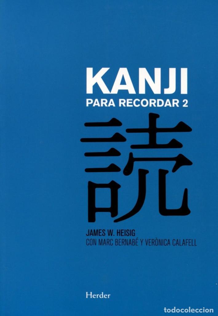 KANJI PARA RECORDAR VOL. 02 - HERDER - NUEVO (Libros Nuevos - Idiomas - Japonés)