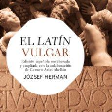Livres: EL LATÍN VULGAR. Lote 55188851