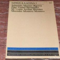 Livres: LENGUA LATINA I UNIVERSIDAD NACIONAL A DISTANCIA. Lote 70300005