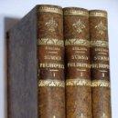 Libros: SUMMA PHILOSOPHICA IN USUM SCHOLARUM - F T M ZIGLIARA - BEAUCHESNE &CIE, ÉDITEURS 1905/08. Lote 112555743