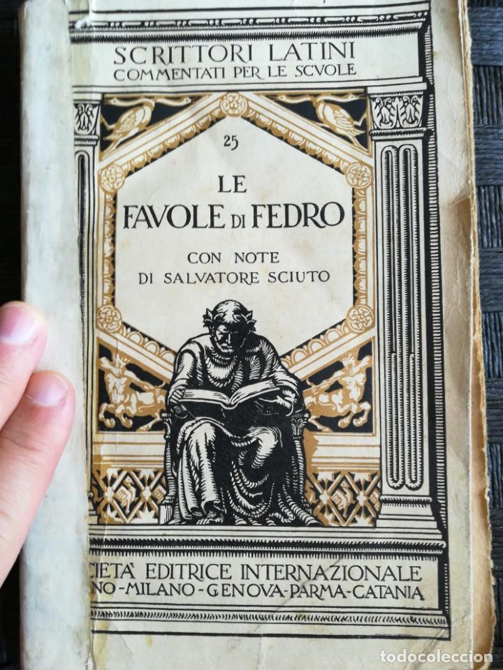 LE FAVOR DI FEDRO (Libros Nuevos - Idiomas - Latín y Griego)