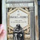 Libros: LE FAVOR DI FEDRO. Lote 140493546
