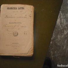 Libros: LATÍN. Lote 160711662