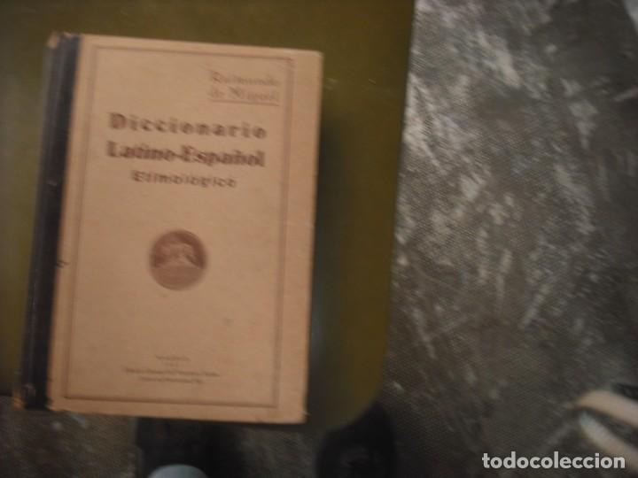 DICCIONARIO ETIMOLÓGICO DE LATÍN (Libros Nuevos - Idiomas - Latín y Griego)