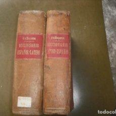 Libros: DICCIONARIO LATÍN VALBUENA. Lote 160783418