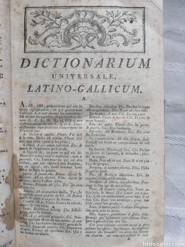 Libros: Dictionarium universale latino-gallicum, ex omnibus latinitatis auctoribus summa diligentia collectu - Foto 3 - 199119793