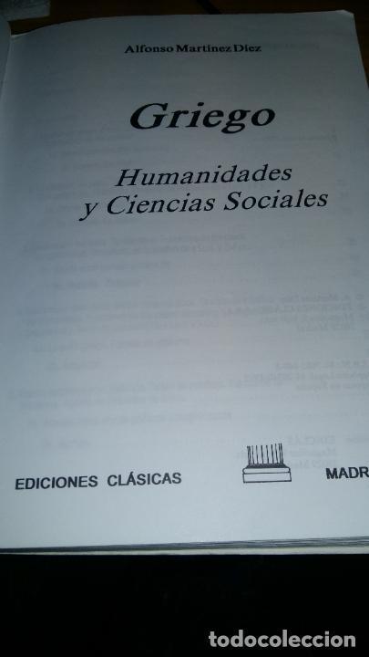 Libros: Griego - Humanidades y Ciencias Sociales - Foto 2 - 207337287