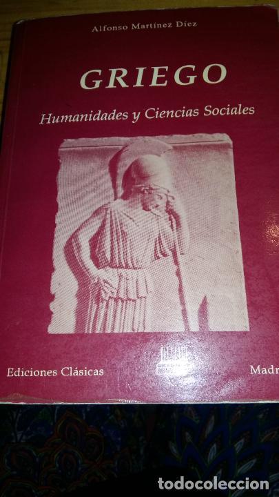 GRIEGO - HUMANIDADES Y CIENCIAS SOCIALES (Libros Nuevos - Idiomas - Latín y Griego)