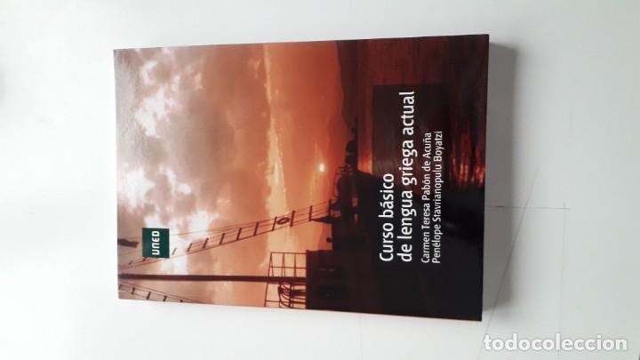 CURSO BÁSICO DE LENGUA GRIEGA ACTUAL (Libros Nuevos - Idiomas - Latín y Griego)