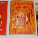 Libros: TRILOGÍA LIBROS ESCLAVO DE AURELIA POR AURELIA ARDENT. Lote 98686295