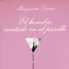 Libros: EL HOMBRE SENTADO EN EL PASILLO (COLECCIÓN LA SONRISA VERTICAL). Lote 100599031