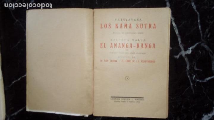 Libros: Amor. Erótica. El amor en Oriente. Kamasutra y otros libros orientales. - Foto 2 - 132128662