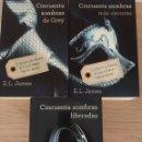 Libros: CINCUENTA SOMBRAS DE GREY - COLECCIÓN COMPLETA. Lote 135648286