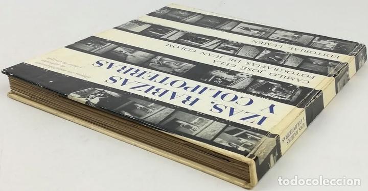 Libros: IZAS. RABIZAS Y COLIPOTERRAS. CAMILO JOSÉ CELA. EDITORIAL LUMEN. BARCELONA 1964 - Foto 6 - 157211498