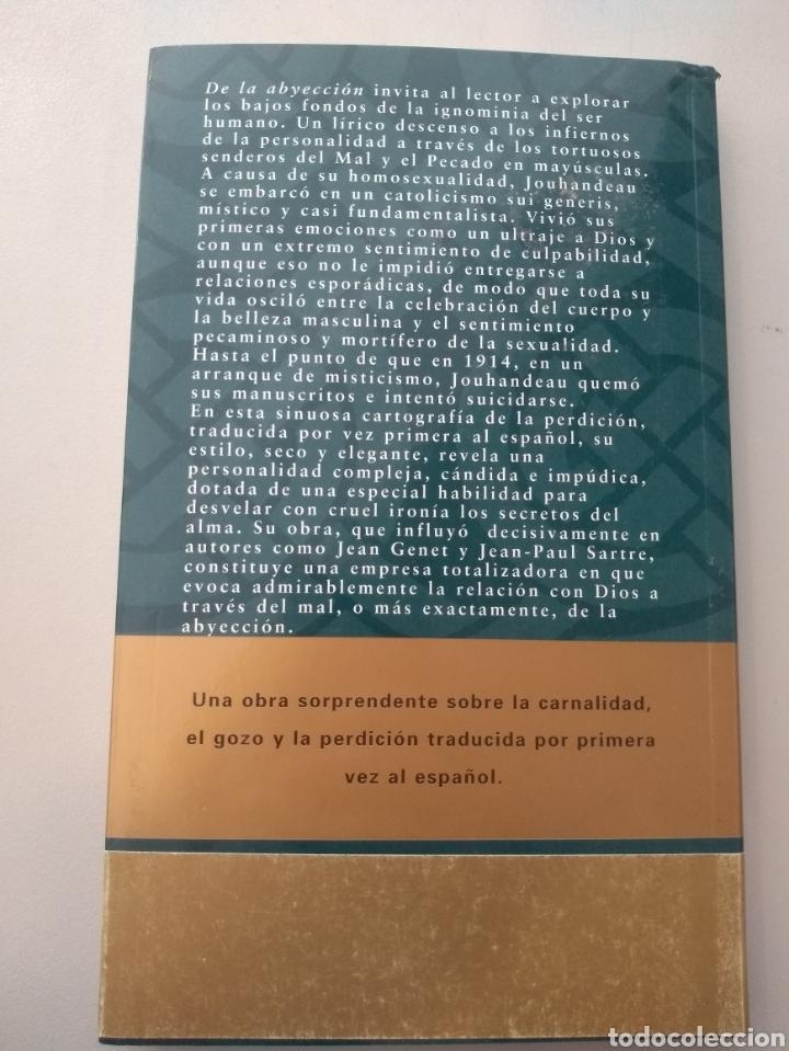 Libros: De la abyección de Marcel Jouhandeau - Foto 2 - 165726838