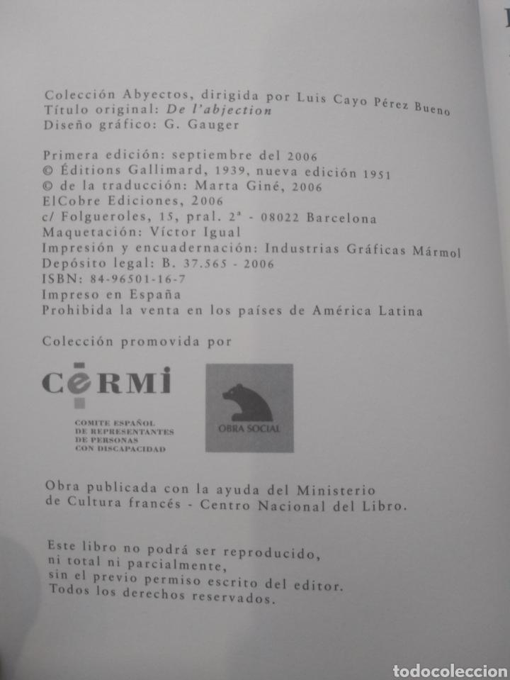 Libros: De la abyección de Marcel Jouhandeau - Foto 3 - 165726838