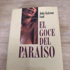 Libros: EL GOCE DEL PARAÍSO. Lote 172686583