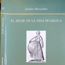 Libros: MONTAUBAN, JANNINE. EL AJUAR DE LA VIDA PICARESCA. REPRODUCCIÓN, GENEALOGÍA Y SEXUALIDAD EN... 2003.. Lote 175106998