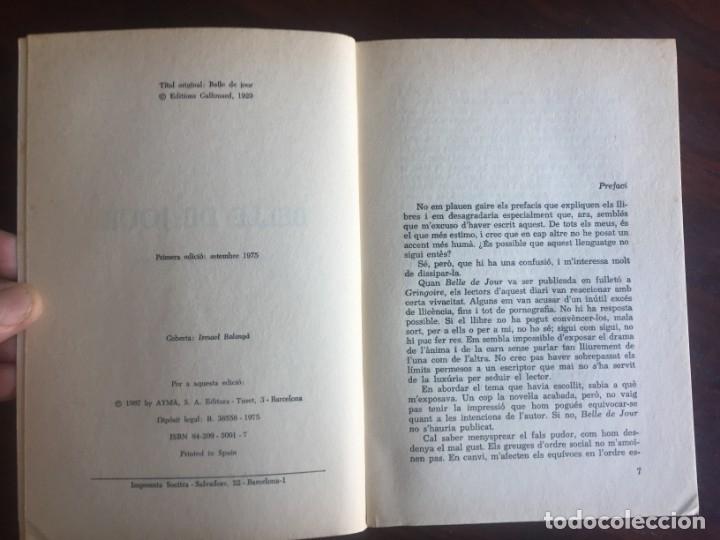 Libros: Belle De jour de Joseph Kessel Narrativa, sobre una parje y sus relaciones sexuales extra conyugales - Foto 2 - 182505480