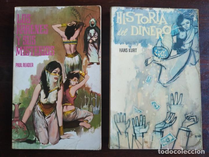 LOTE DE 2 NOVELAS. LOS HARENES Y SUS MISTERIOS LOS MISTERIOS PALACIOS ARABES 2º HISTORIA DEL DINERO (Libros Nuevos - Literatura - Narrativa - Erótica)
