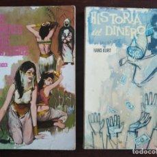 Libros: LOTE DE 2 NOVELAS. LOS HARENES Y SUS MISTERIOS LOS MISTERIOS PALACIOS ARABES 2º HISTORIA DEL DINERO. Lote 184365940