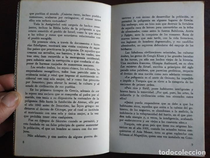 Libros: Lote de 2 novelas. Los harenes y sus misterios los misterios palacios arabes 2º Historia del dinero - Foto 3 - 184365940