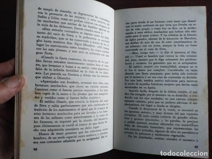 Libros: Lote de 2 novelas. Los harenes y sus misterios los misterios palacios arabes 2º Historia del dinero - Foto 5 - 184365940