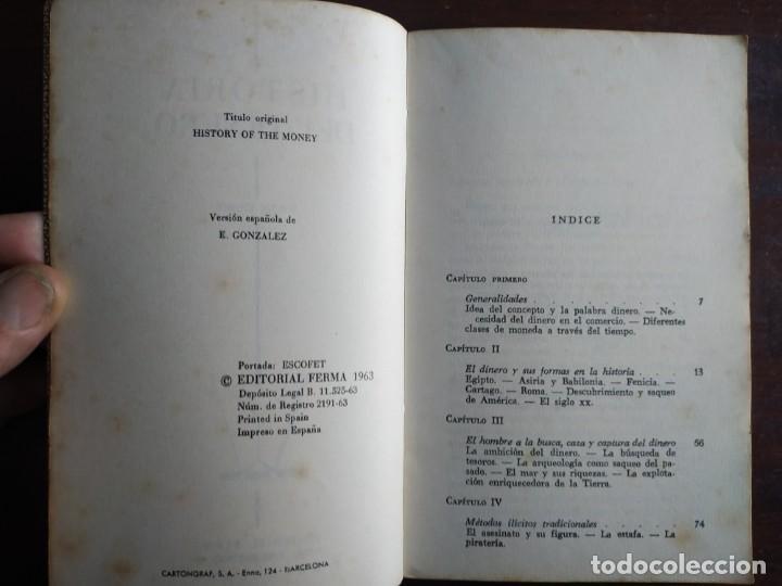 Libros: Lote de 2 novelas. Los harenes y sus misterios los misterios palacios arabes 2º Historia del dinero - Foto 9 - 184365940