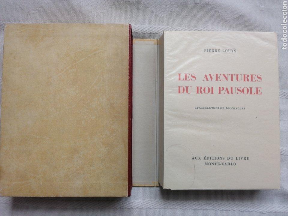 BIBLIOFILIA:LOUYS PIERRE LES AVENTURES DU ROI PAUSOLE. LITOGRAFÍAS DE TOUCHAGUES AUX ÉDITIONS DU LIV (Libros Nuevos - Literatura - Narrativa - Erótica)