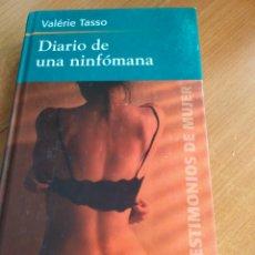 Libros: DIARIO DE UNA NINFÓMANA. Lote 194489271