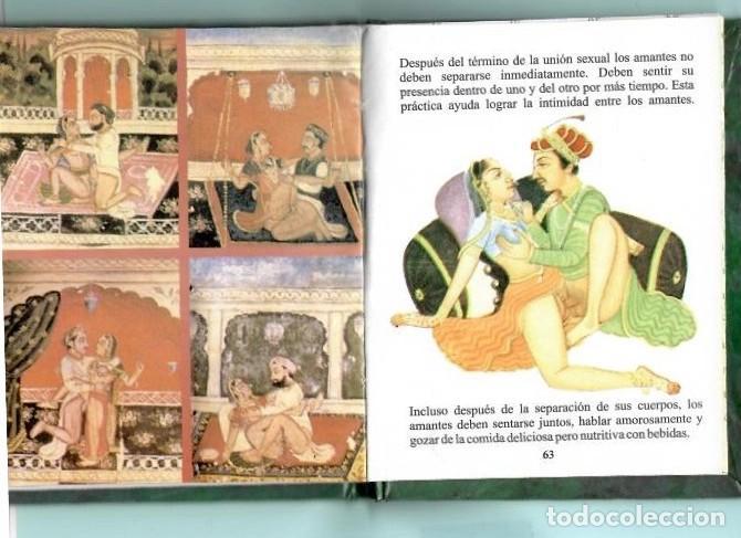 Libros: LIBRETO DE KAMA SUTRA CONTIENE 65 PAGINAS EN ESPAÑOL - Foto 3 - 195228041