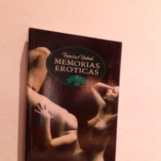 Libros: MEMORIAS EROTICAS-FRANCISCO UMBRAL. Lote 203037311