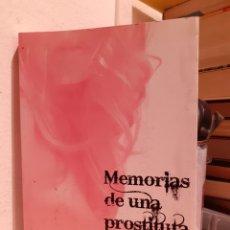 Libros: MEMORIAS DE UNA PROSTITUTA-ANNE SMITH. Lote 203235545