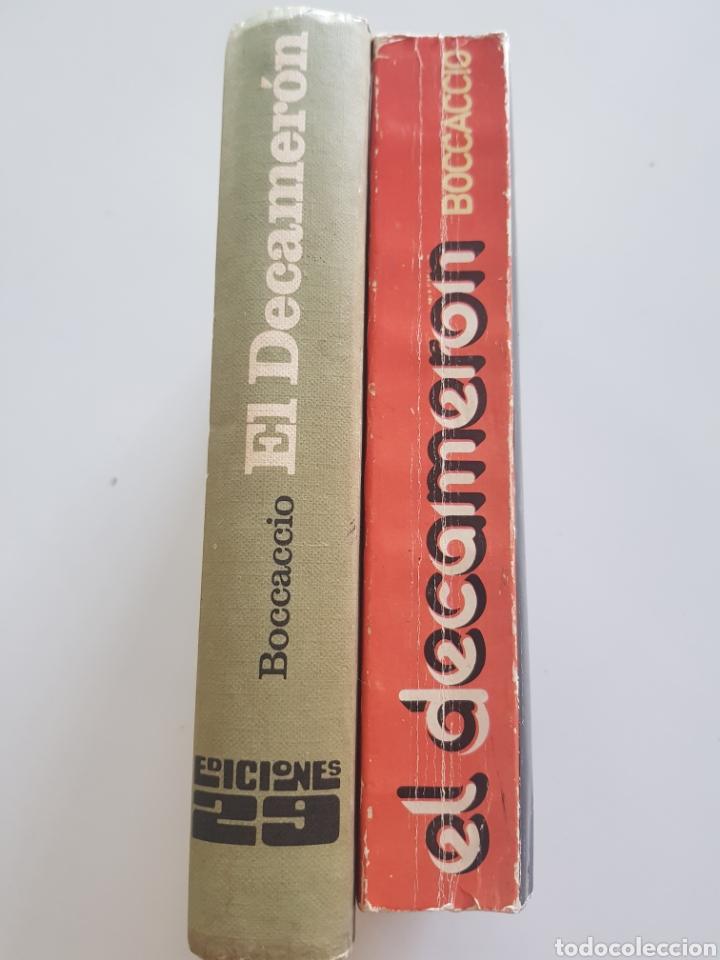 Libros: Lote 2 tomos El Decameron ,Ediciones 29. 1972 y 1976 - Foto 2 - 210673210