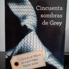 Libros: CINCUENTA SOMBRAS DE GREY, E.L. JAMES. LIBRO. LITERATURA ROMÁNTICA, ERÓTICA, INTRIGA, SEXY.. Lote 213315948