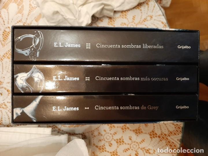 50 SOMBRAS DE GREY CAJA ESPECIAL TRILOGIA (Libros Nuevos - Literatura - Narrativa - Erótica)