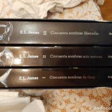 Libros: 50 SOMBRAS DE GREY CAJA ESPECIAL TRILOGIA. Lote 219175727