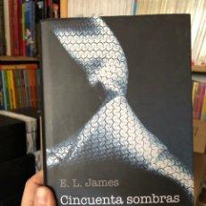 Libros: E. L. JAMES CINCUENTA SOMBRAS DE GREY CÍRCULO DE LECTORES. Lote 219595593