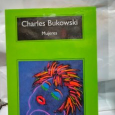 Libros: BUKOWSKI MUJERES COMPACTOS ANAGRAMA. Lote 238335415