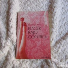 Libros: PLACER BAJO CONTROL - CATHRYN FOX. Lote 240868210