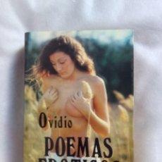 Libros: POEMAS ERÓTICOS / OVIDIO. Lote 243803380