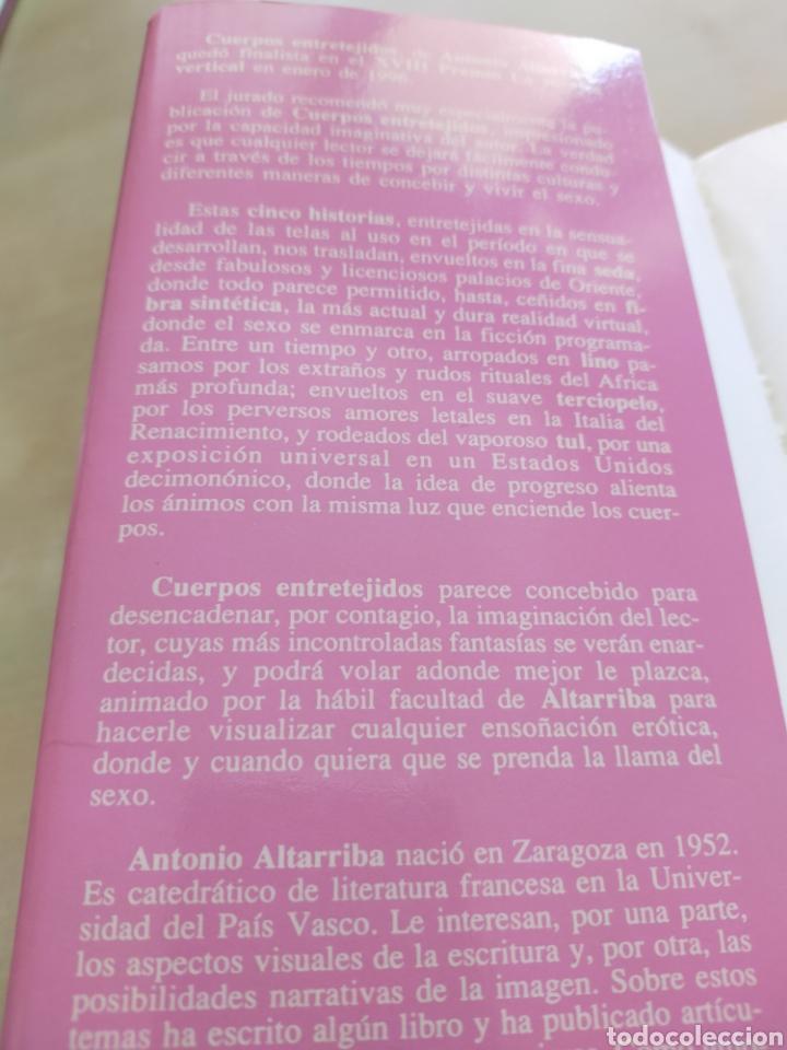 """Libros: Novela """"Cuerpos entretejidos"""" - Foto 3 - 262408045"""
