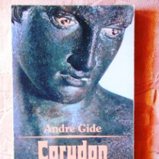 Libros: ANDRÉ GIDE: CORYDON - PRÓLOGO DE GREGORIO MARAÑÓN. Lote 270138788