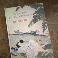 Libros: EL ERUDITO DE LAS CARCAJADAS - JIN PING MEI - ATALANTA (2010) ENVÍO GRATIS. Lote 293974818